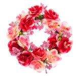 Dekorative Blumenkränze selbst binden
