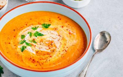 Köstliche Herbst-Suppe: Süßkartoffel-Kokos-Suppe