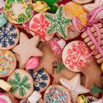 Köstliche Weihnachtsplätzchen