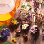 Erfrischende Tees aus dem Garten