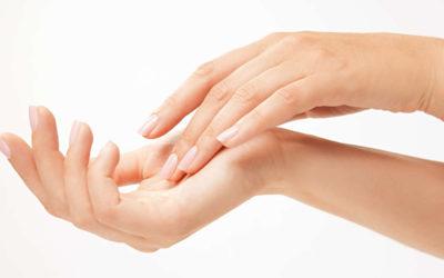 Zarte und gepflegte Hände