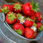 Erdbeeren mal herzhaft