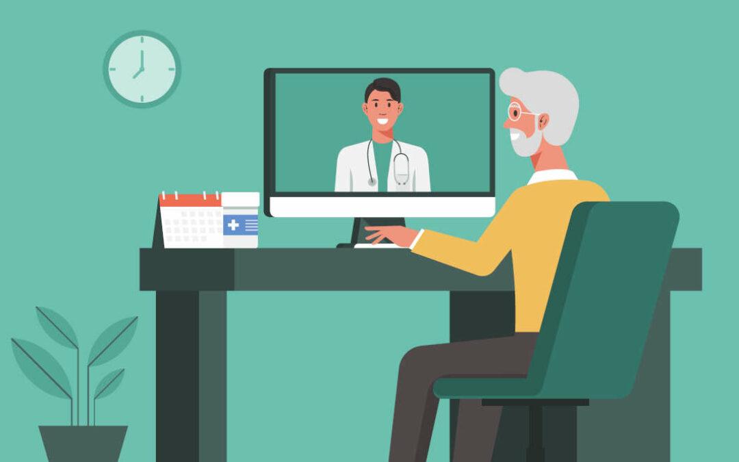 Die Vor- und Nachteile virtueller Sprechstunden