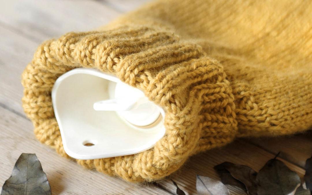 Heiß geliebte Wärmflasche – inkl. Strickanleitung