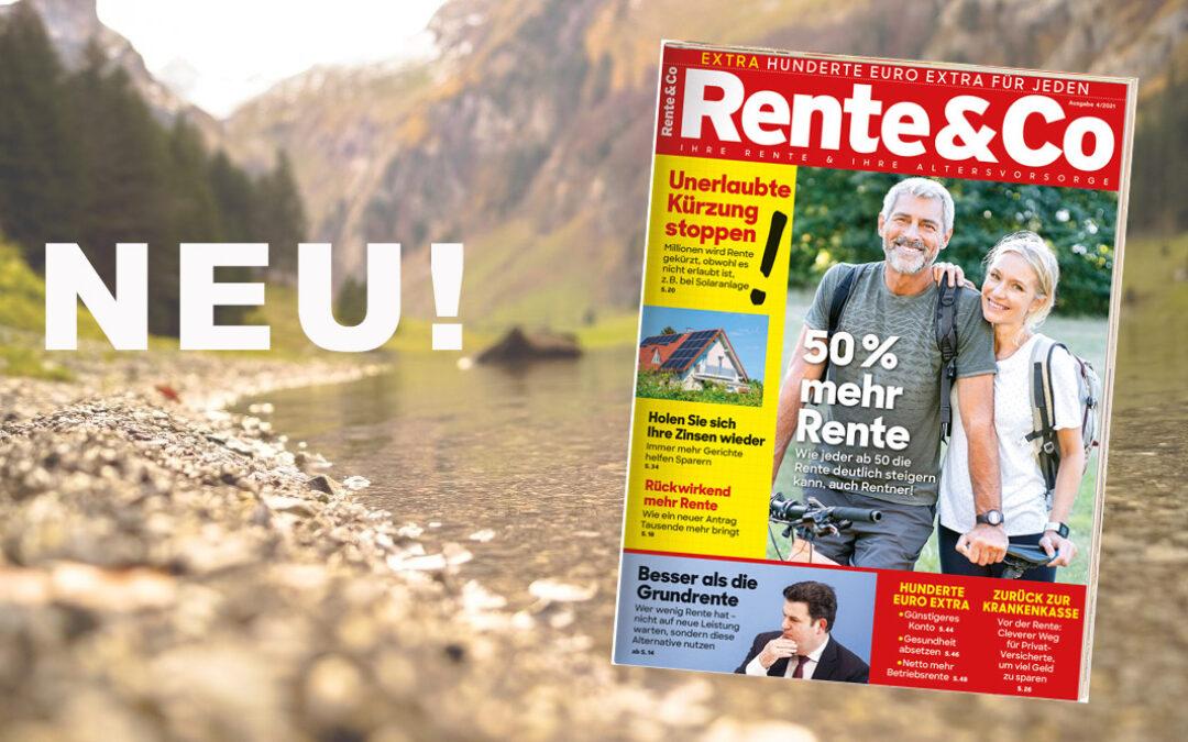 Sonderheft Rente & Co 4/21