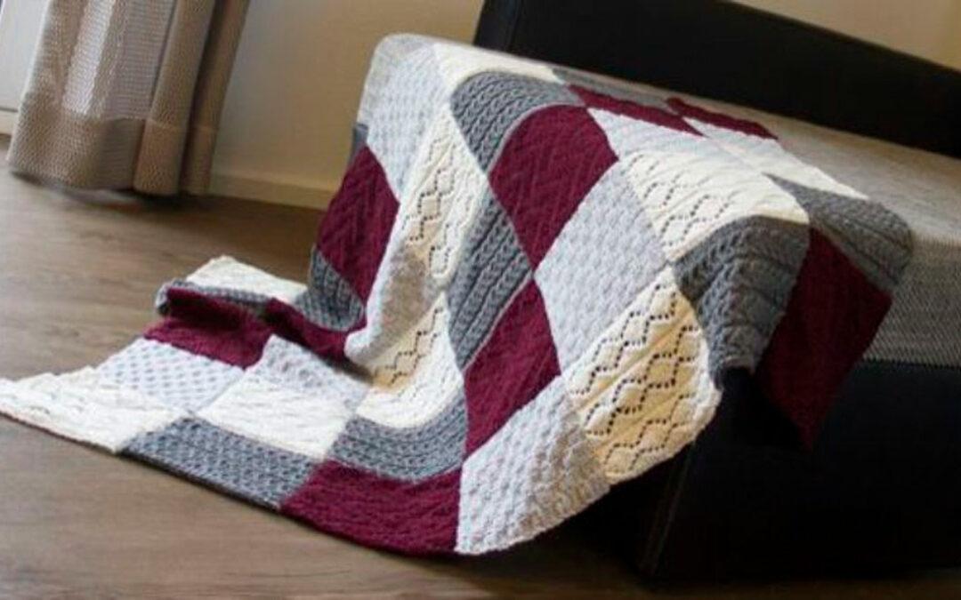 Strickanleitung für eine kuschelige Decke