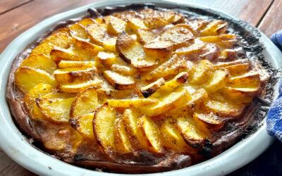 Herbstrezept: Kartoffeltarte mit Lauch