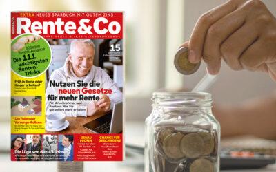 Sonderheft Rente & Co 6/21